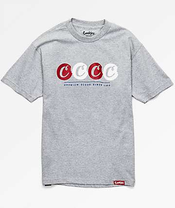 Cookies Times 4 Heather Grey T-Shirt