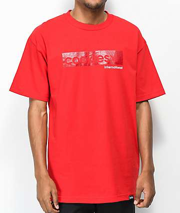 Cookies Tone Logo Red T-Shirt