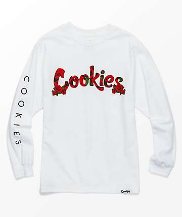 Cookies Tournament Of Roses Black Long Sleeve T-Shirt