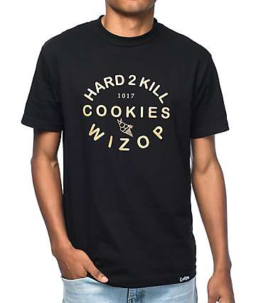 Cookies X Wizop Lingo camiseta negra