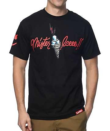Cookies X Wizop Mister Icee camiseta negra