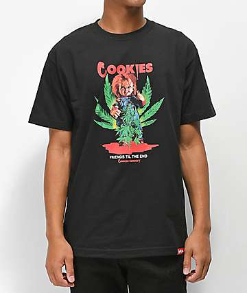eacd3ade96 Cookies x Chucky Friends Black T-Shirt