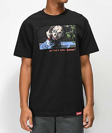 Cookies x Chucky No Cookies Black T-Shirt