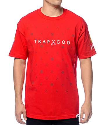 Cookies x Gucci Mane Trap God Red T-Shirt