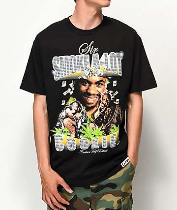 Cookies x Half Baked Sir Smoke A-Lot Black T-Shirt