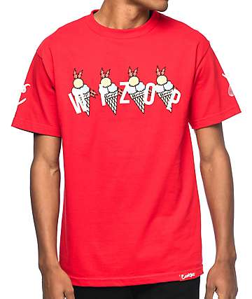Cookies x Wizop 4 Tha Hard Way Red T-Shirt