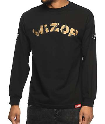 Cookies x Wizop Tiger Wizop Long Sleeve T-Shirt