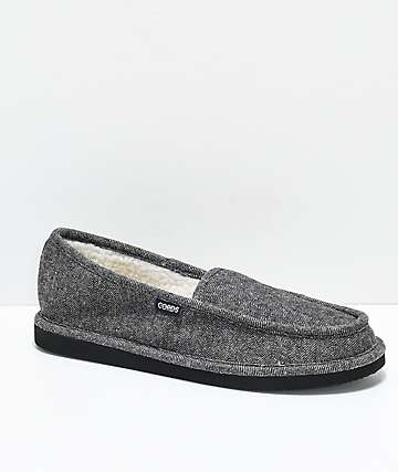 Cords Draper Charcoal Slippers