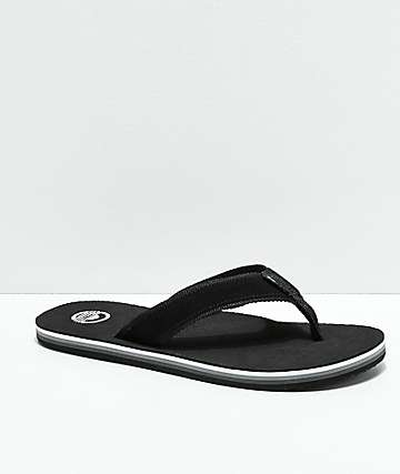 Cords Venice Black & White Suede Sandals