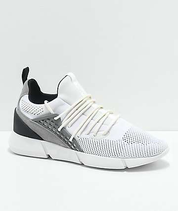 Cortica Rapide 118 White Knit Shoes