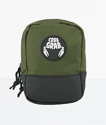 Crab Grab Army Green Binding Bag