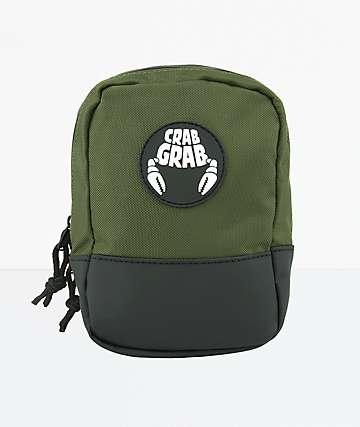 Crab Grab Army Green Binding Bag