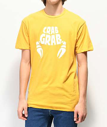 Crab Grab Classic Gold T-Shirt
