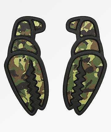 Crab Grab Mega Claws Camo Stomp Pads
