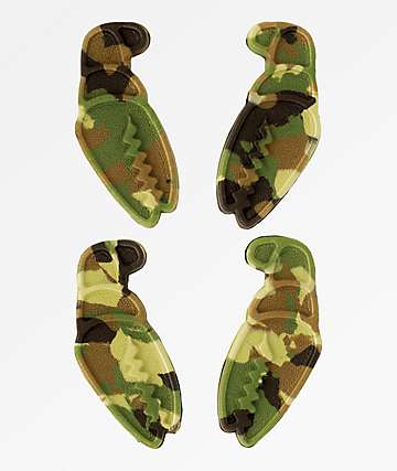 Crab Grab Mini Claws Forrest Camo Stomp Pads