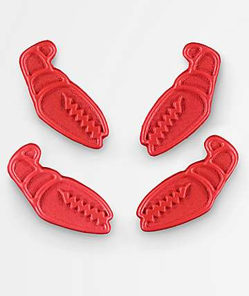 Crab Grab Mini Claws Red Stomp Pads