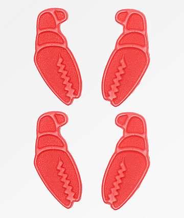 Crab Grab Mini Claws Red Stomp Pads