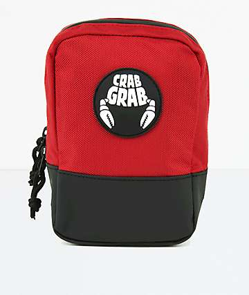 Crab Grab Red Binding Bag