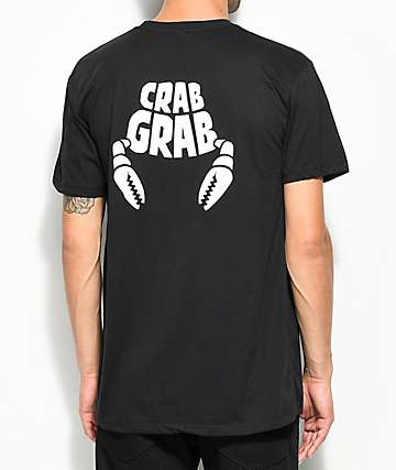 Crab Grab Worlds Best Black T-Shirt