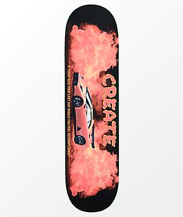 "Create Diablo Fire 8.25"" Skateboard Deck"