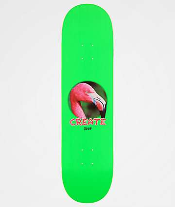 "Create Flamingo 97 8.25"" Skateboard Deck"
