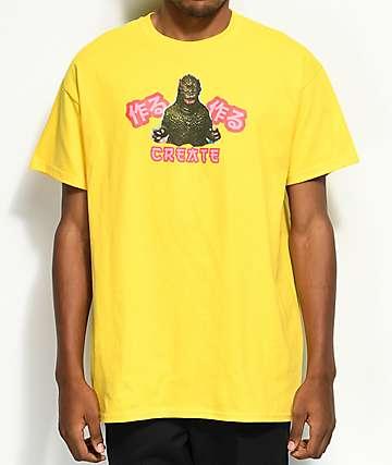Create Gahzirra camiseta amarilla