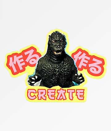 Create Godzilla Sticker