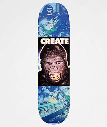 "Create Kong Almighty 8.3"" Skateboard Deck"