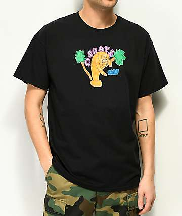 create miami manatee black t shirt