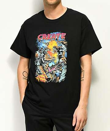 Create Zilla vs. Kong Black T-Shirt