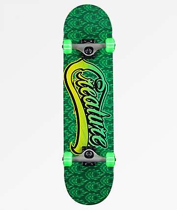 "Creature Bonehead Script 7.75"" Skateboard Complete"