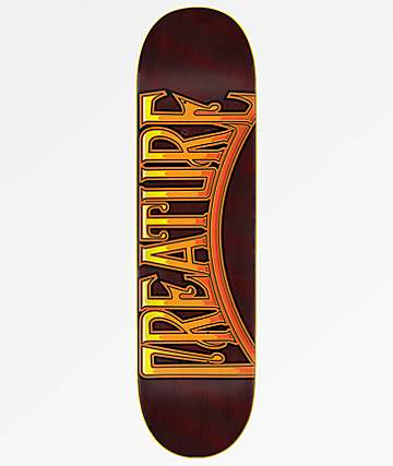 "Creature Club Plaquer Hard Rock 8.25"" Skateboard Deck"