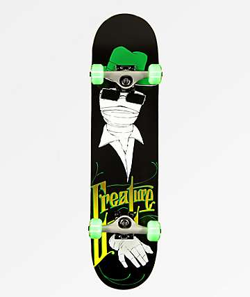 "Creature Invisible Man 7.5"" Skateboard Complete"