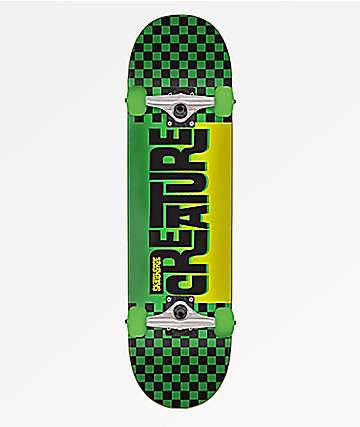 "Creature Kustom Checker 7.25"" Skateboard Complete"