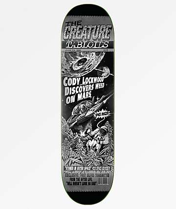 "Creature Lockwood Tabloid 8.2"" Skateboard Deck"