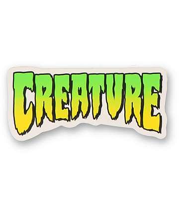 Creature Logo Decal Sticker