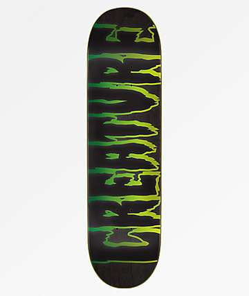 Creature Logo Outline Hard Rock Maple 8.25 Skateboard Deck