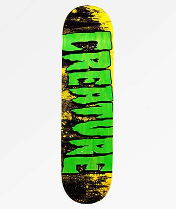 "Creature Logo Wash 8.25"" Skateboard Deck"