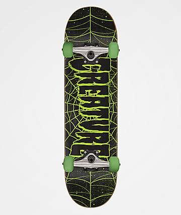 "Creature Logo Web 7.25"" Skateboard Complete"