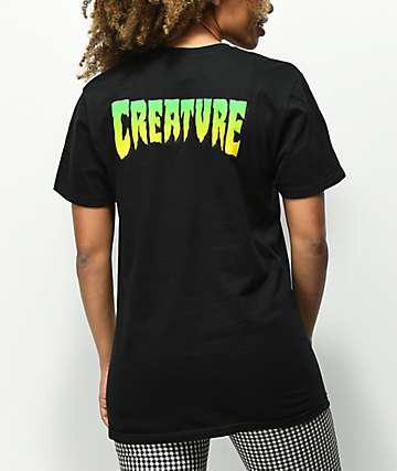 Creature Logo camiseta negra
