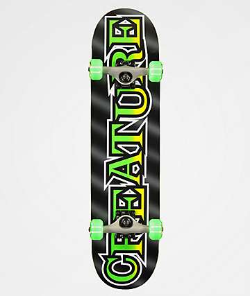 "Creature Long Logo 7.5"" Skateboard Complete"