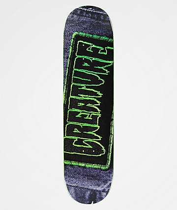 "Creature Patched Hard Rock 8.0"" Skateboard Deck"