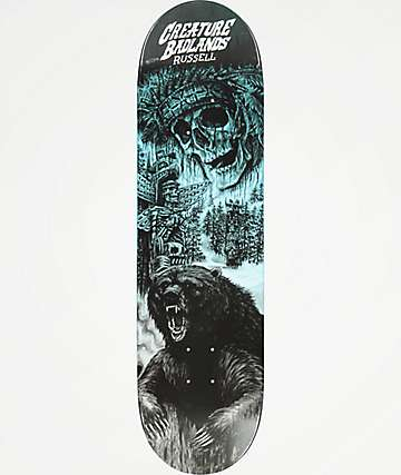 "Creature Russel Badlands 8.5"" tabla de skate"