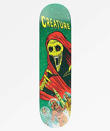 "Creature Space Horrors 8.0"" Skateboard Deck"