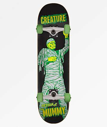 Creature The Mummy 7.75 Skateboard Complete