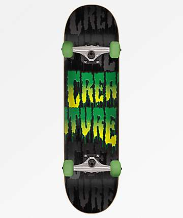 """Creature Toxic Stack 7.75"""" Skateboard Complete"""