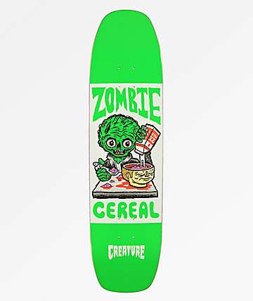 "Creature Zombie Cereal 8.25"" Skateboard Deck"