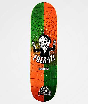 "Creature x Lurking Class By Sketchy Tank Russell Skate-Moji 8.5"" Skateboard Deck"