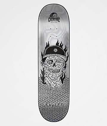 "Creature x Sketchy Tank Gravette Melted 8.25"" Skateboard Deck"