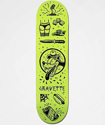 "Creature x Sketchy Tank Gravette Tanked 8.2"" Skateboard Deck"